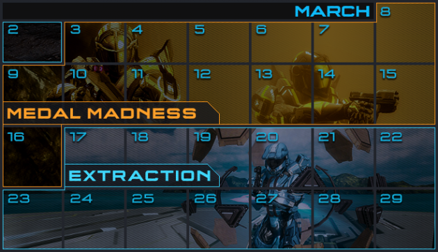 Halo 4 matchmaking playlist calendar