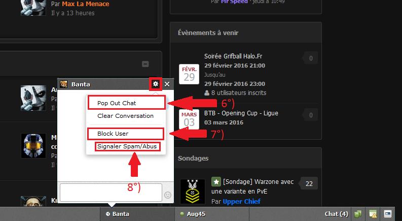 5Arrow options Chat