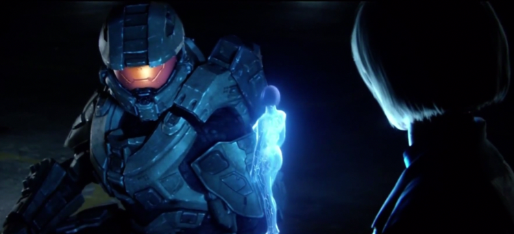 Cortana se voit confier au Master-Chief