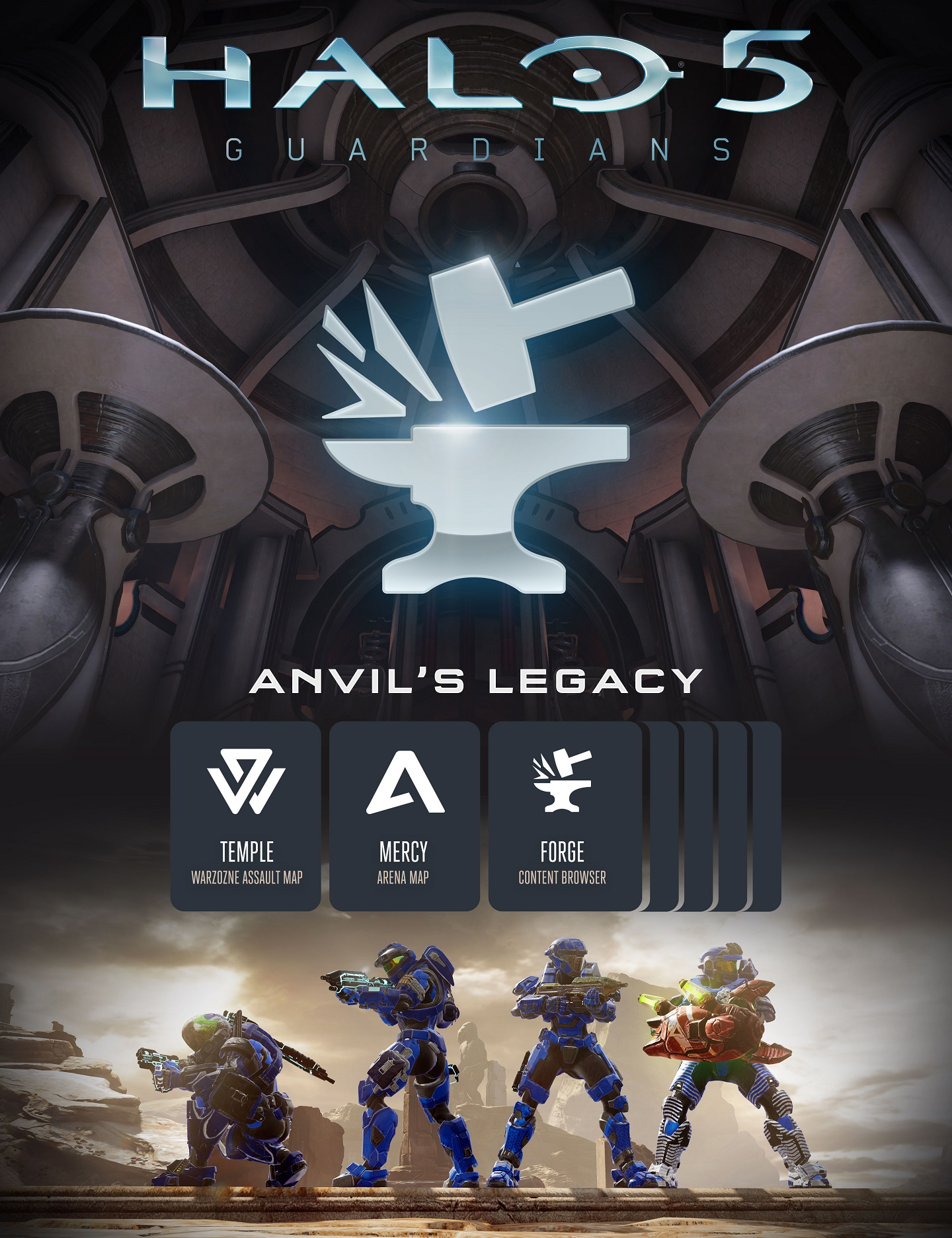 Mise à jour - Halo 5 : Guardians - Anvil's Legacy