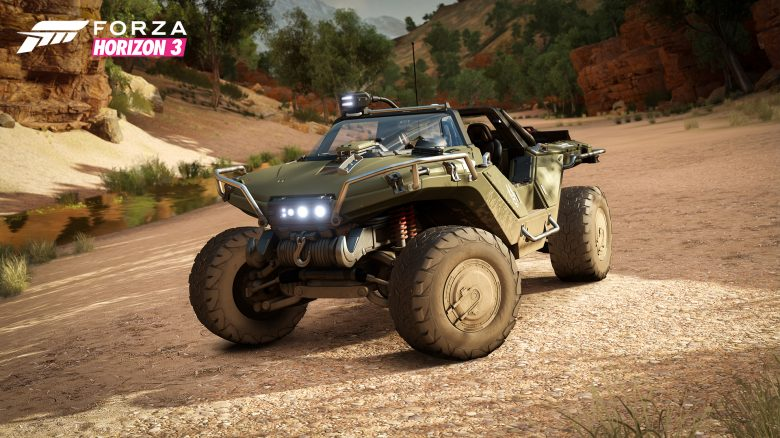 Halo Warthog Forza