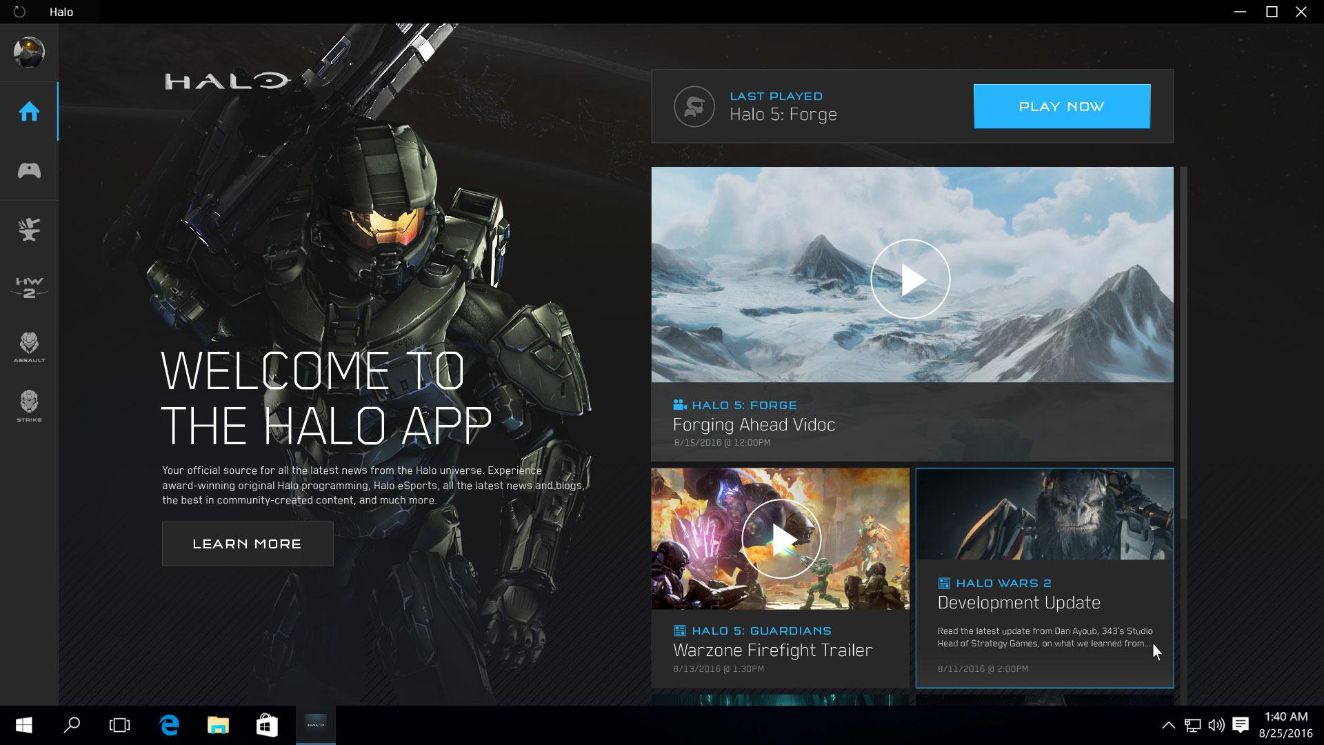L'application Halo Windows 10 détaillée — Halo.fr