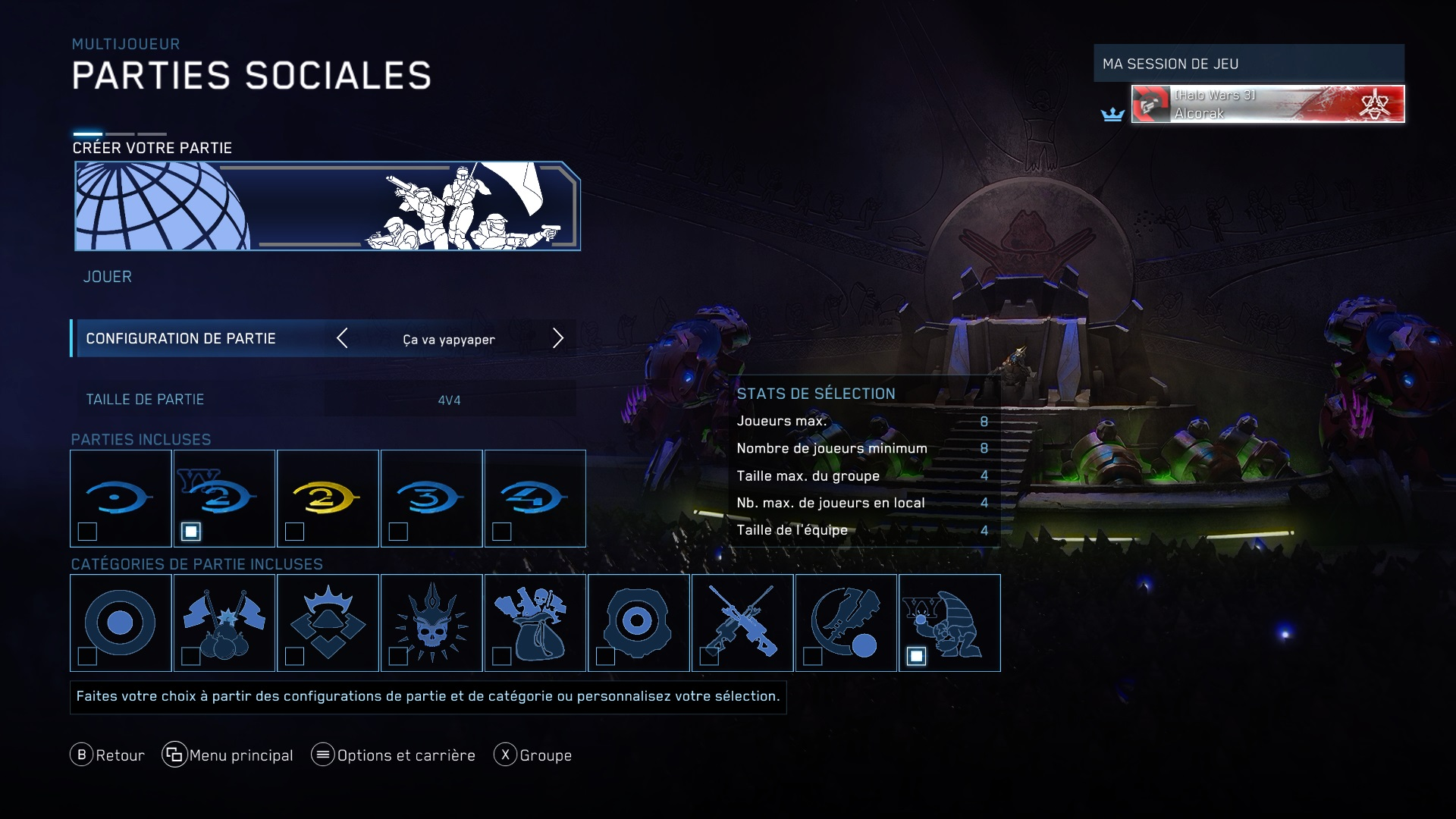 Halo atteindre matchmaking playlists