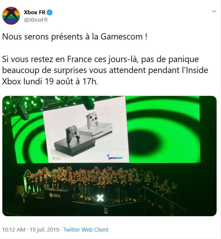 Le prochain Inside Xbox est daté — Microsoft