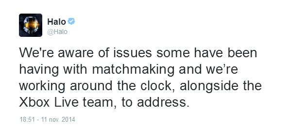 Halo TMCC matchmaking non funziona
