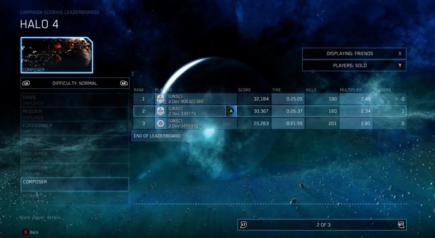 est Halo matchmaking vers le bas